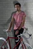 Voglia andare per un giro della bici? Immagine Stock