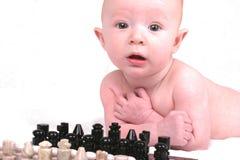 Voglia giocare gli scacchi Fotografia Stock