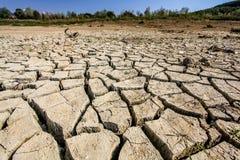 Озеро Vogrscek Droughted стоковая фотография