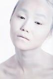 Vogue-Art-helles Make-upmann-Porträt Zauber-Fetisch-Mannesgalan lizenzfreies stockbild