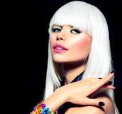 Vogue-Art-Porträt Lizenzfreies Stockfoto