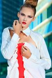 Vogue clothes Stock Images