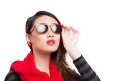 Vogue-Mädchen Lizenzfreie Stockbilder