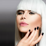 Vogue Style Portrait Stock Images