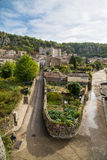 Vogue village in the Ardeche river Stock Images