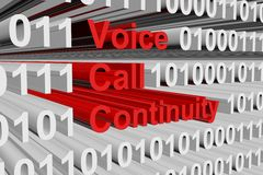 Voice call continuity Royalty Free Stock Photo