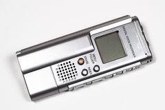 Voice Recorder. Digital business voice recorder Stock Photos