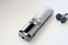 Voice recorder. New electronic recorder Royalty Free Stock Image
