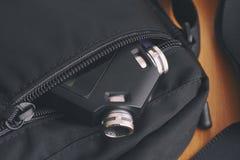 Voice recorder in a bag Stock Photos