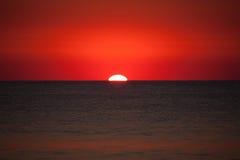 Voici venir le Sun Image stock