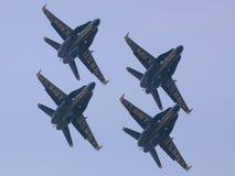 Voici venir les anges bleus Image libre de droits