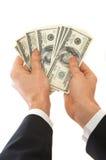 Voici vos dollars photographie stock libre de droits
