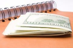 Voici votre argent Photographie stock
