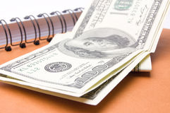 Voici votre argent Image libre de droits