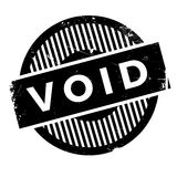 Void rubber stamp Royalty Free Stock Image