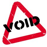 Void rubber stamp Stock Photos
