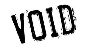 Void rubber stamp Stock Photography