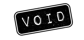 Void rubber stamp Stock Photo