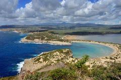 Voidokilia, paysage de Messenia, Grèce photos stock