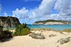 Voidokilia, paysage de Messenia, Grèce photo libre de droits