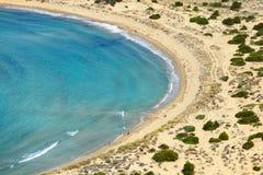 Voidokilia, paysage de Messine, Grèce image stock