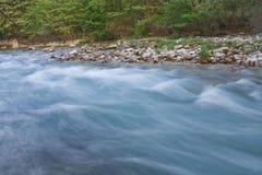 Voidomatis River. Rushing in Greece royalty free stock image