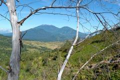 Voie à l'Ijen Volcano Crater photo stock