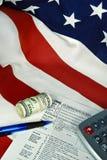 voie américaine Image stock