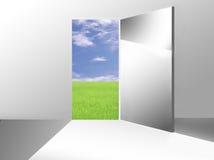 Voie aux possibilités neuves Images libres de droits
