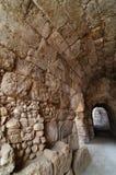 Voie couverte dans l'amphithéâtre dans Beit Guvrin Images libres de droits