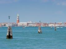 Voie d'eau dans Venise Images libres de droits