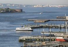 Voie d'eau de New York Photographie stock libre de droits