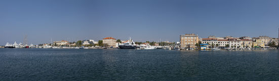 Voie d'eau de Zadar Image libre de droits