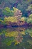 Voie d'eau paisible Image libre de droits