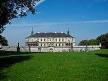 Voie de base de château de Pidgirci Photos stock
