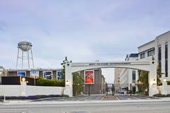 Voie de base de studio de Sony Pictures Entertainment photo stock