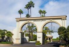 Voie de base de studios de Paramount Images stock