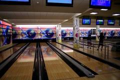 Voie de bowling images libres de droits