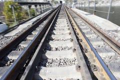 Voie de chemin de fer Images stock