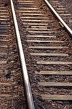 Voie de chemin de fer Images libres de droits