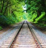 Voie de chemin de fer. Images stock