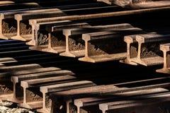 Voie de chemin de fer Image stock