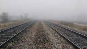 Voie de chemin de fer Photos stock