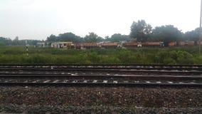 Voie de chemin de fer Photographie stock