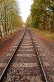 Voie de chemin de fer (HDR) photos stock