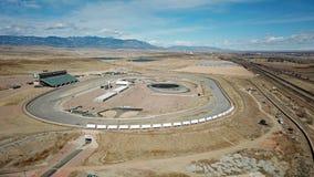 Voie de course dans le désert du Colorado photo libre de droits