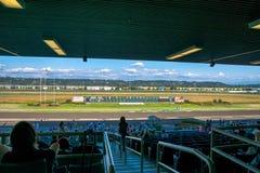 Voie de course de cheval Emerald Downs Photo libre de droits