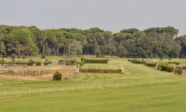 Voie de course de chevaux Photographie stock libre de droits