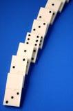 Voie de domino Photographie stock libre de droits