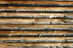 Voie de garage de planche de cèdre - fond Photographie stock